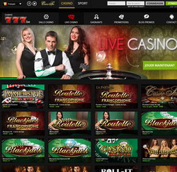 Casino777 : casino legal Belgique