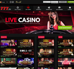 Casino777 en direct du Casino de Spa
