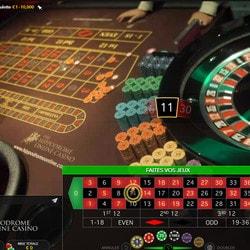 Roulette en ligne en direct de casinos