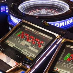 Jeux electroniques au Casino d'Enghien-les-Bains en France